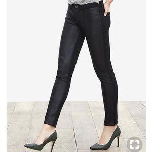 Banana Republic Sloan Faux Leather Pants Sz 14